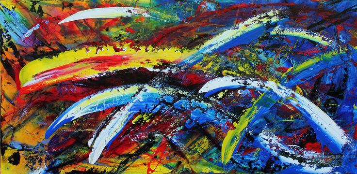 Acrylic on canvas - 1:60 mt x 0:80 mt. Gustavo A. Villegas H guscausaefecto@gmail Cel: (57) 313 432 7154 Fijo: 460 12 45