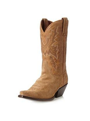 Dan Post Women's San Angelo Suede Cowboy Boot