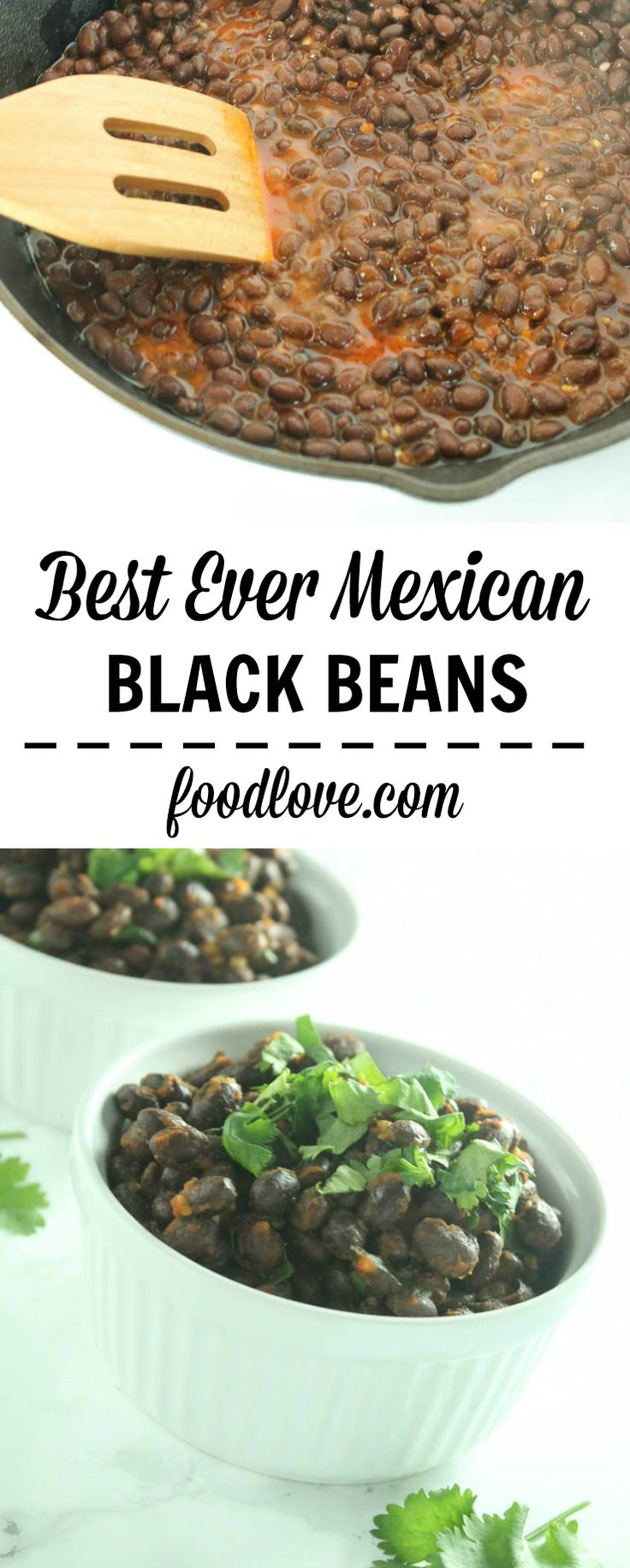 These really are the best ever Mexican black beans. Served as a side, on tacos or salads, or in burritos or enchiladas, they're delicious, quick, and easy!