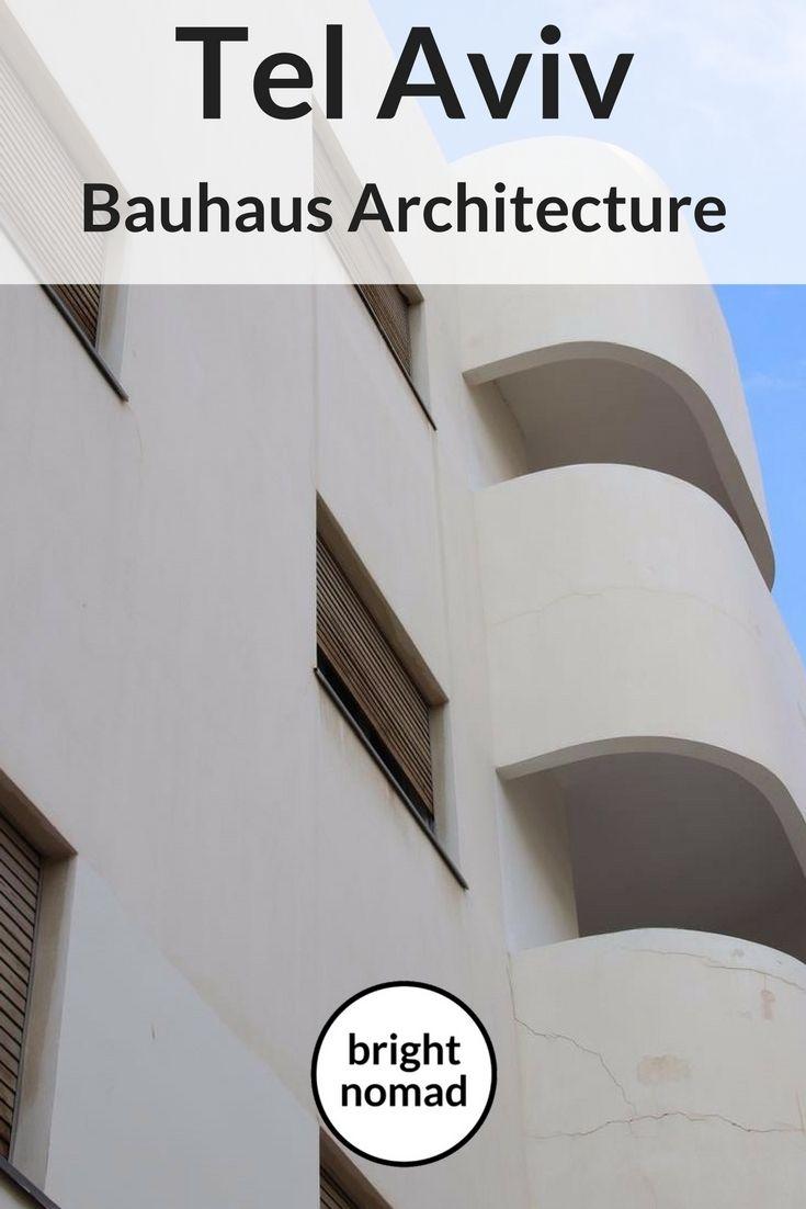 Tel Aviv #Bauhaus #Architecture #TelAviv #Israel #travel #culture  #international #style