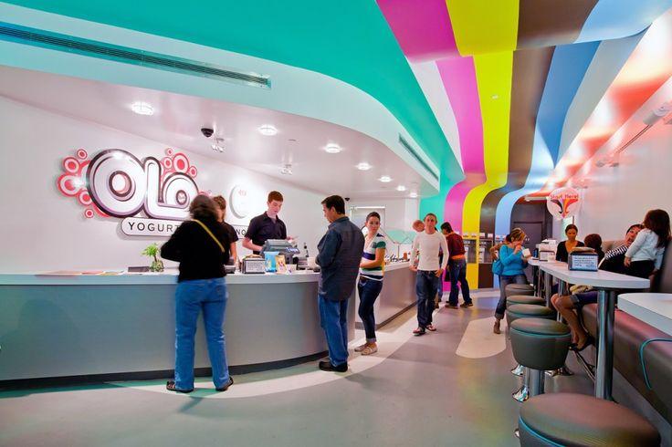 Olo Yogurt Studio  Baker Architecture