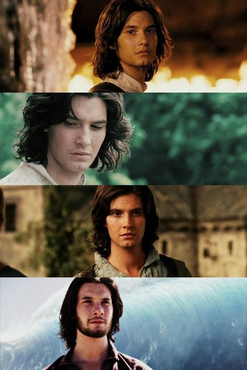 Caspian, my all time favorite character from Narnia. It's just because I think he's extremely handsome.