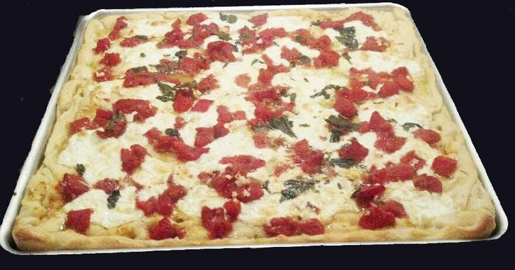 Grandma Pizza Recipe – NY Style!          There is nothing quite like Grandma's Pizza      Ah, the smell of Grandma's Pizza baking!   There...