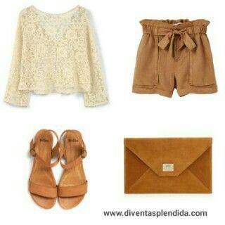 #outfit   #autunno2016  #pizzo  #pantaloncini Segui 💖💖💖 www.diventasplendida.com 💖💖💖