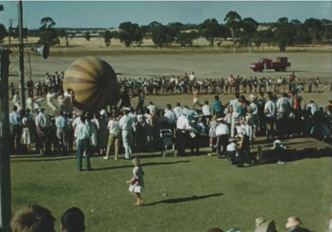 [Click to view film] Narrogin Fair,1950s by Clifford Comini. More information on film content can be found on the SLWA catalogue. http://encore.slwa.wa.gov.au/iii/encore/record/C__Rb1534710