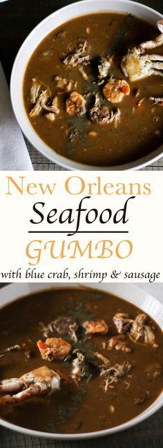Authentic New Orleans Seafood Gumbo-this is my go to recipe for gumbo. It it what I grew up eating. Has all the seafood and fixn's.