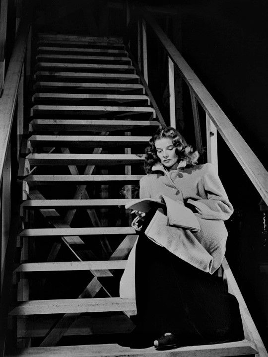 L for legend: Katharine Hepburn