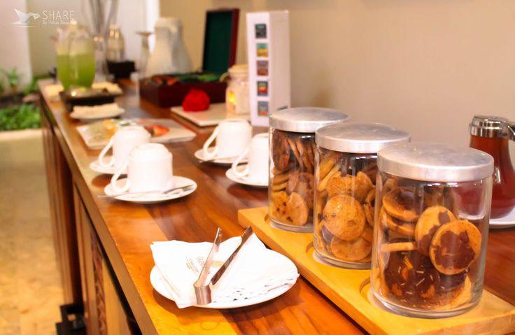 Also you can savor an snack. #Spa #GrandVelas #RivieraMaya.