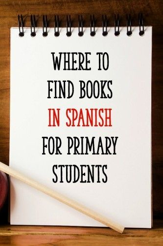 A great list of websites for finding books in Spanish!  - Learning At The Primary Pond