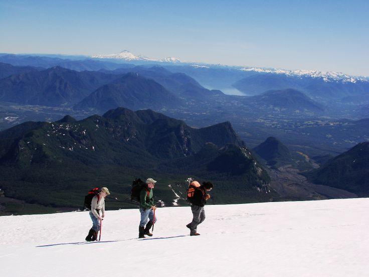 Climb Up Villarrica Volcano
