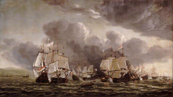 The Battle of Leghorn, 4 March 1653 Reinier Nooms (Zeeman) (c.1623–1664) National Maritime Museum