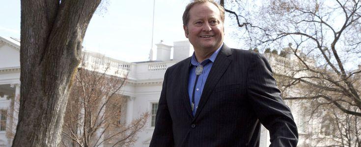 Montana Gov. Brian Schweitzer leaves the White House in Washington on Feb. 27, 2012.