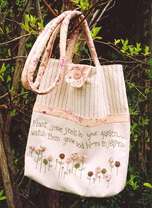 My Patterns: Plant some seeds carry bag