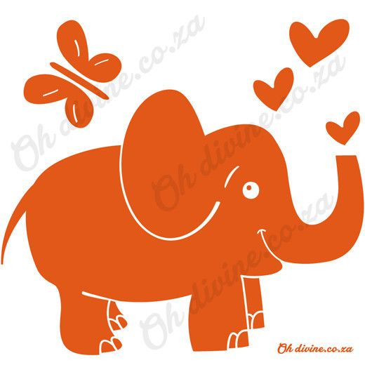 The big peaceful giant of the Savanna is also here, Mr Elephant. Order this easy to apply and remove wall decal in the colour of your choice.