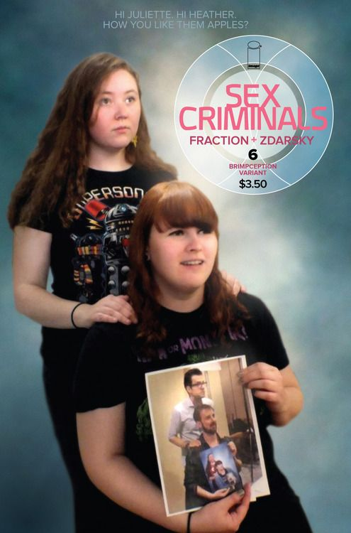 Super Rare Sex Criminals #6 Brimpception variant, click the pic and find out more...