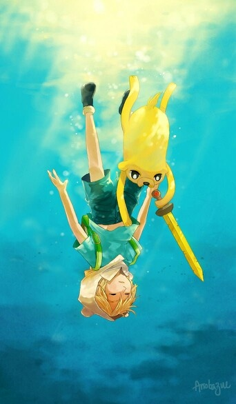 Some More Finn and Jake (cause they're that awesome.)