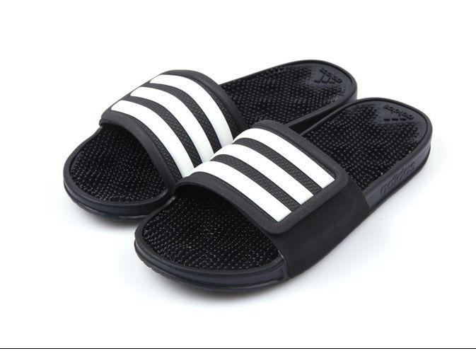 0db269539db1 Mens Adidas Sandal Adissage 2.0 Stripes (S78505) Adidas Beach Slippers