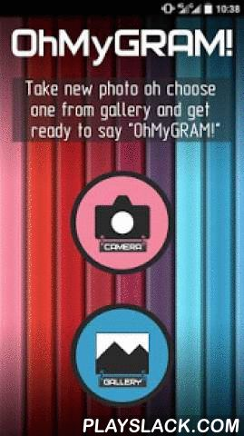 """#OhMyGram - Square Photo  Android App - playslack.com , Frustrated that Instagram crops your photos everytime?You wish your photos to look more cool and more extraordinary?#OhMyGram is a simple photo-editor, that makes your pictures square-sized with no crop and empty stripes!Are you familiar with apps like #Square or Square InstaPic? Now there will be no foolish borders or empty areas on your pics! Oh My Gram will make them stylish and beautiful! Unlike apps like """"InstaSquare"""" or…"""