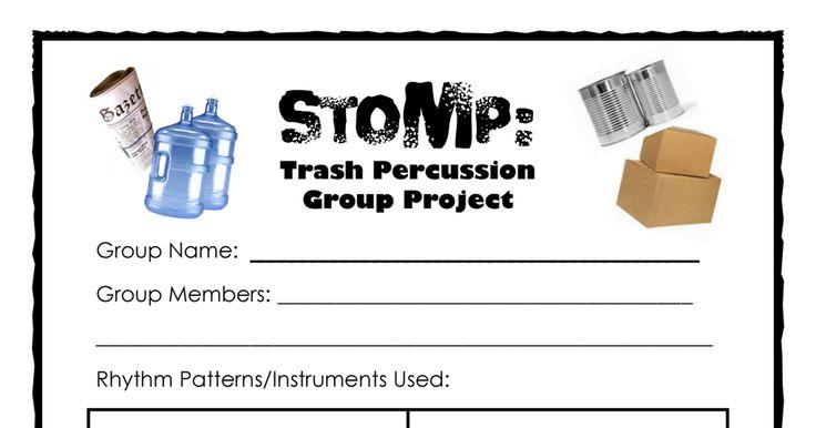 Stomp Percussion Project.pdf