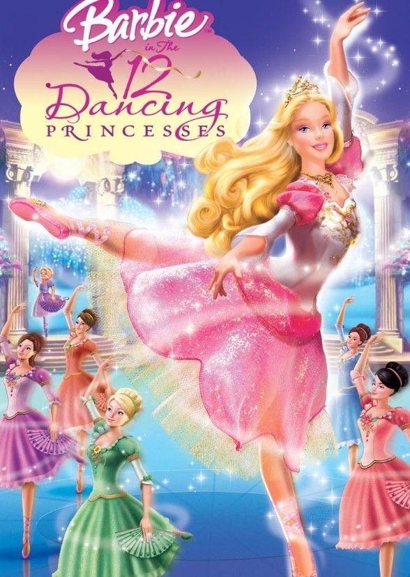 Barbie Twelve Dancing Princesses Cast In 2020 12 Dancing Princesses Barbie Cartoon Twelve Dancing Princesses