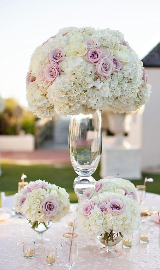 Featured Photographer: Amanda Suanne Photography; Wedding reception centerpiece idea.