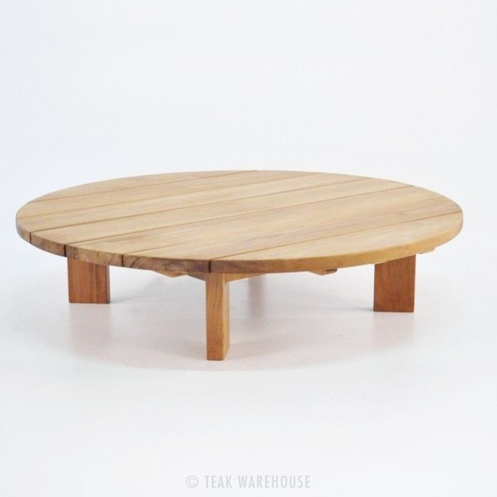 Soho Teak Outdoor Coffee Table (Round) 0