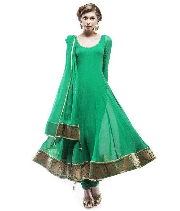 Samor Anarkali With A Brocade Border On Hemline, http://www.snapdeal.com/product/samor-anarkali-with-a-brocade/1955100047