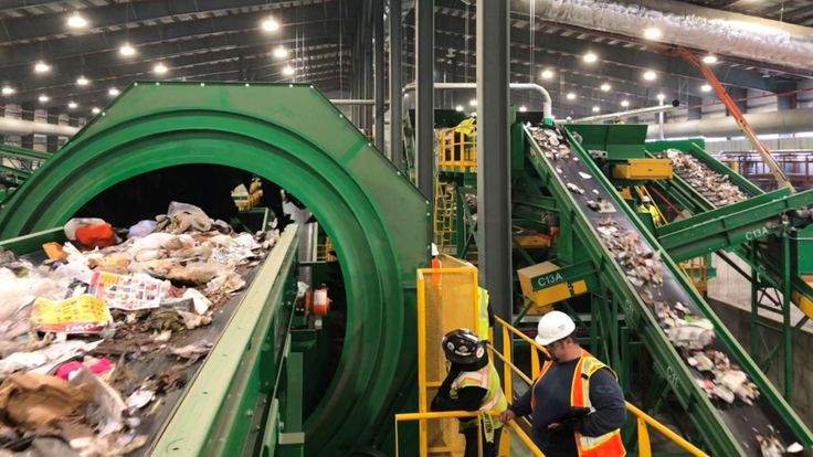 Stateoftheart recycling and waste processing facilities