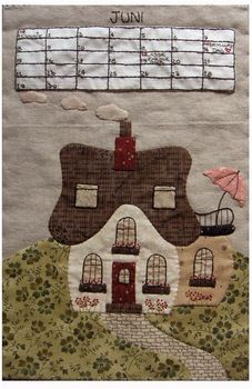 Sortiment | Categories | Quilt My Design - Juni - BOM 2009 (KIT)