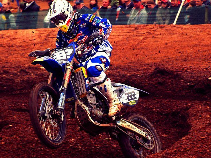 Antonio Cairoli back on his Yamaha. #AntonioCairoli #Yamaha #Motocross.