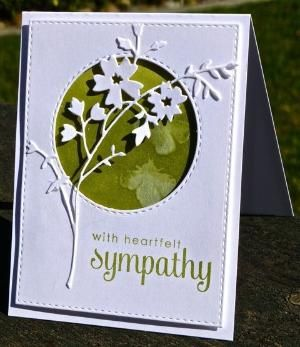 WT520 With Sympathy by hskelly - Cards and Paper Crafts at Splitcoaststampers by denise.su