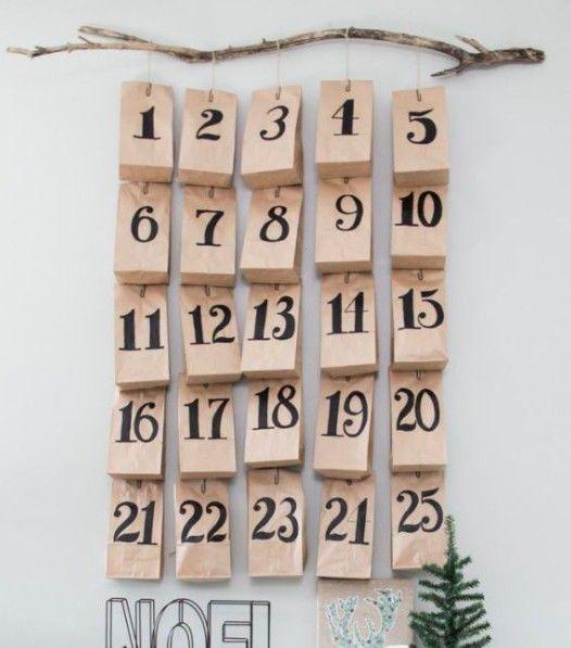 adventskalender selber machen adventskalender selber. Black Bedroom Furniture Sets. Home Design Ideas