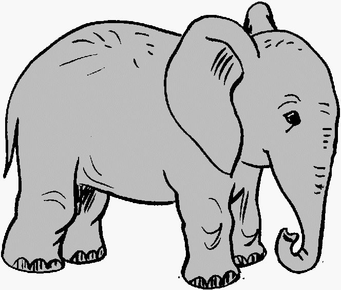 Elephant Clip Art Black And White Clipart Panda Free Clipart Images Elephant Clip Art Elephant Black And White African Elephant