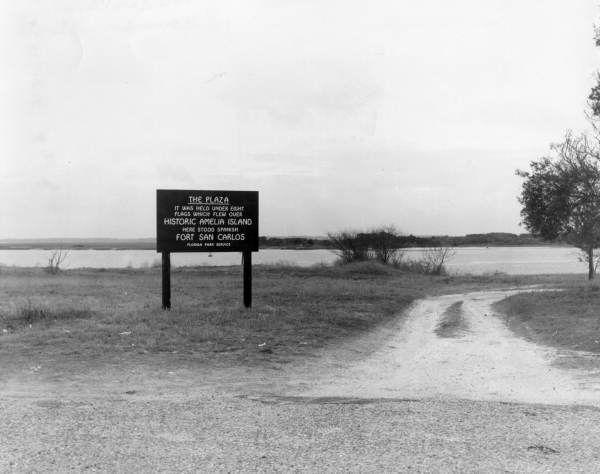 Fort San Carlos State Historic Site - Fernandina Beach, Florida.