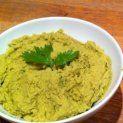 Zöldborsó humusz recept