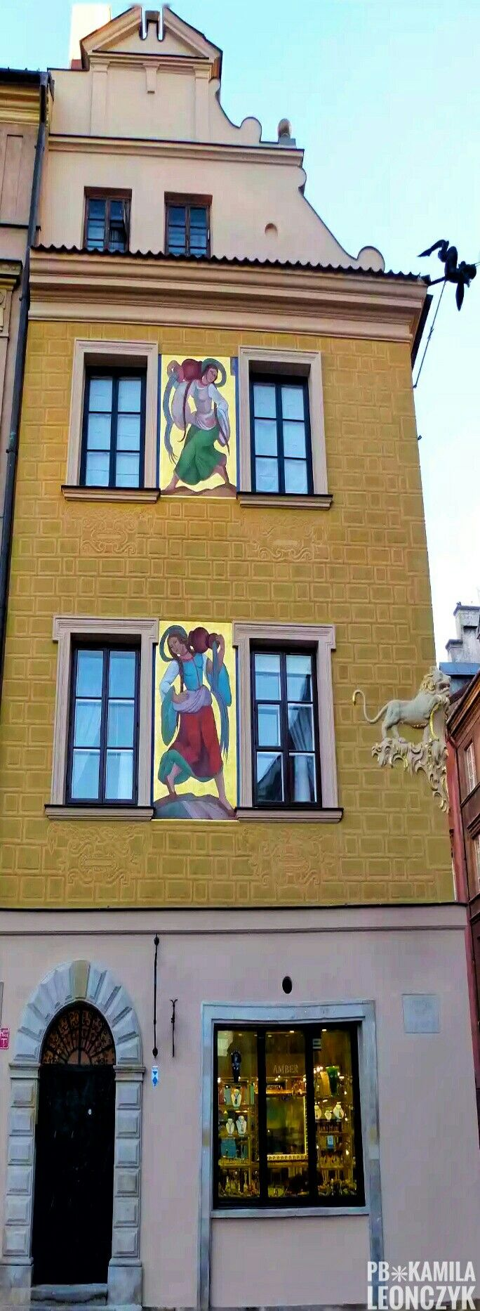 House under the Lion - Warsaw Poland