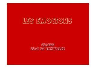 las emociones en P4 basado en el cuento del Monstruo de los colores