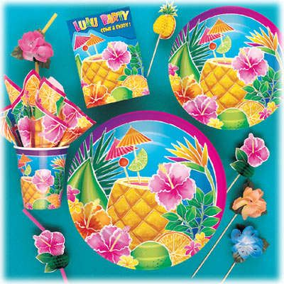 Tropical Luau Theme Party Package