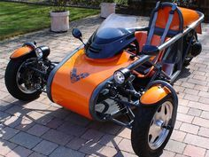 Eco-Exo-R Reverse Trike Kit Car $4k