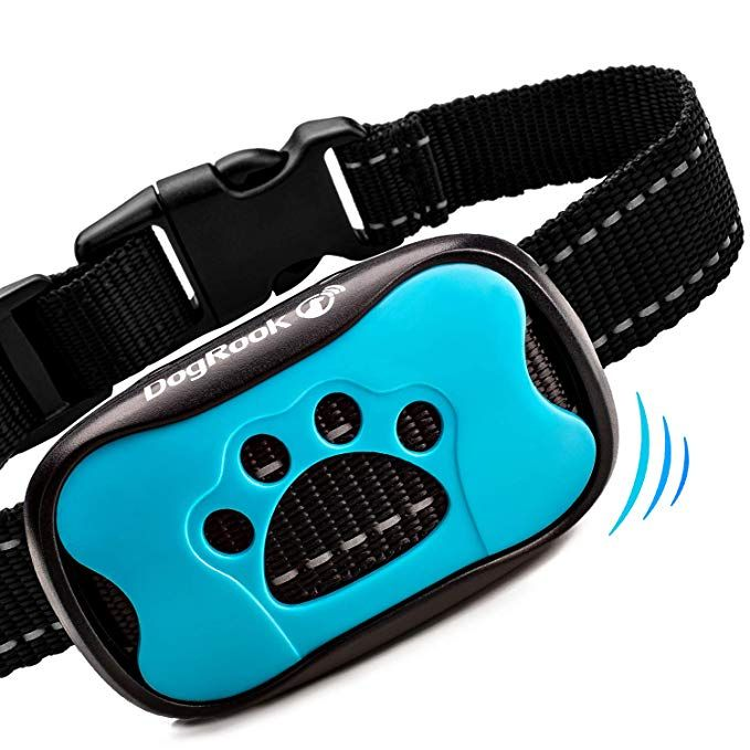 Amazon Com Dogrook Dog Bark Collar Humane Anti Barking Training Collar Vibration No Shock Dog Collar Stop Stop Barking Collar Dog Barking Aggressive Dog