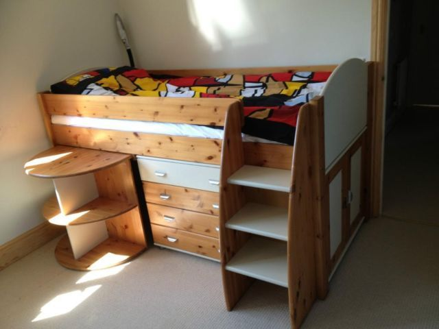 mid sleeper bed gumtree 2