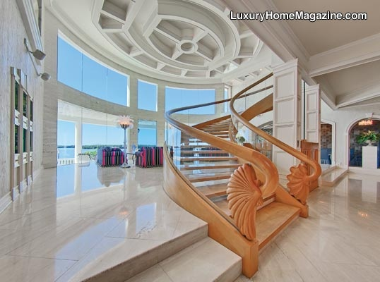 Luxury Home Magazine Tampa Bay #Luxury #Homes #Windows #Stairs #Staircase
