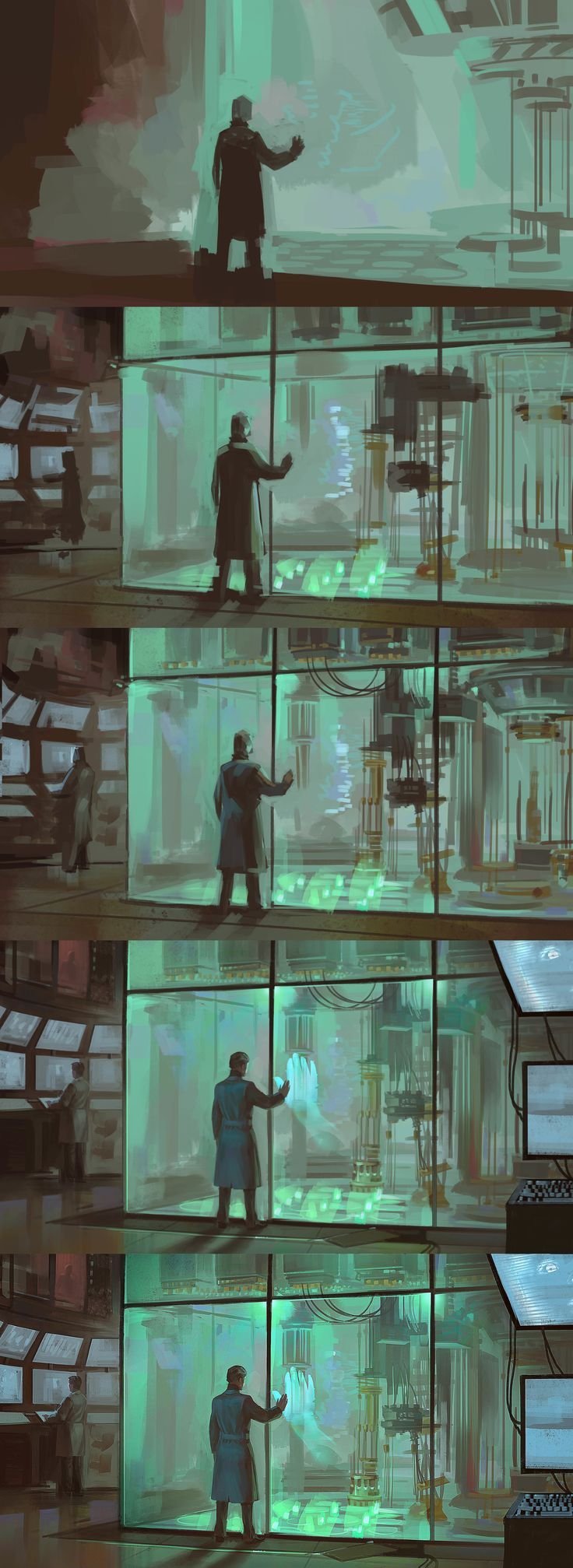 ArtStation - Birth of Ai, Jurijus Chitrovas