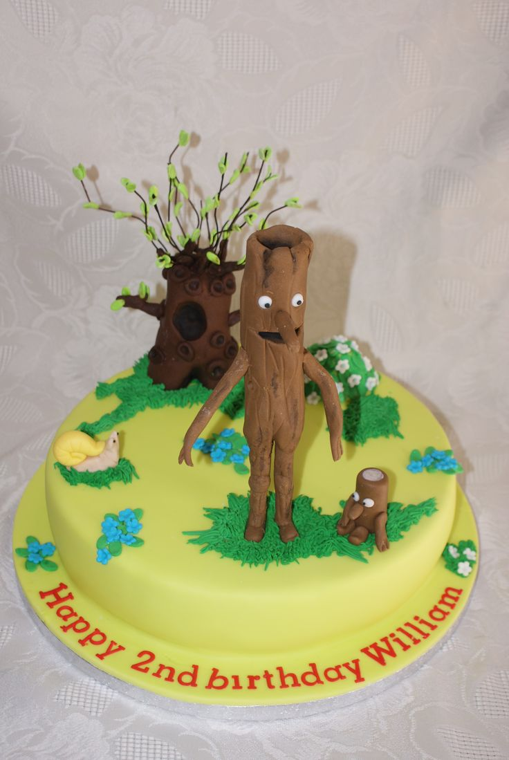 Stickman and the family tree cake  Etties birthday ideas  Pinterest ...