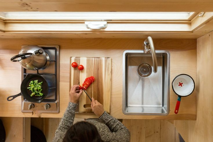 """""""We can worry less about storing four seasons of your wardrobe and a hundred kitchen gadgets,"""" Staff says. """"That frees us up to do these more whimsical things."""""""