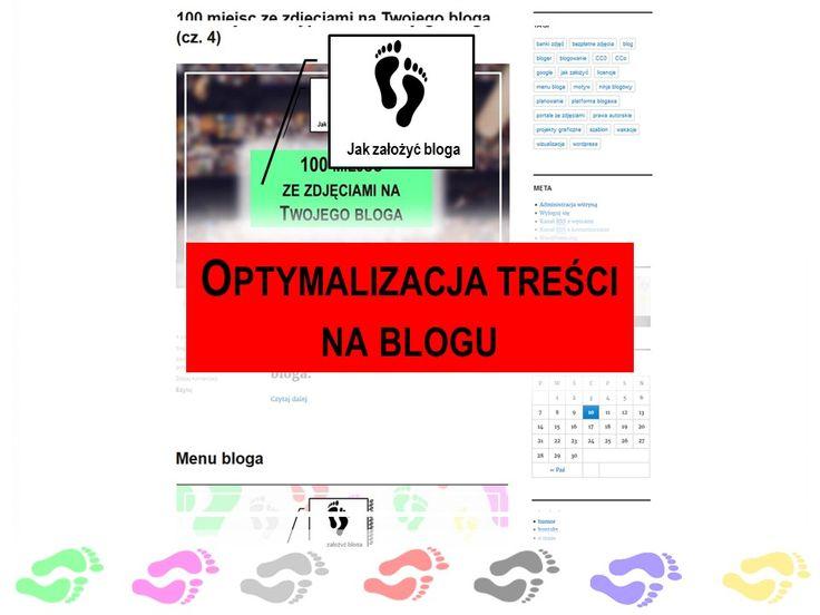 Na czym polegała moje podejście do optymalizacji treści na blogu?