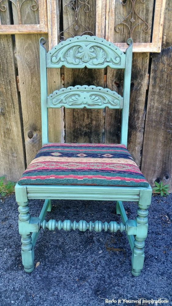 A Southwestern Chair Makeover
