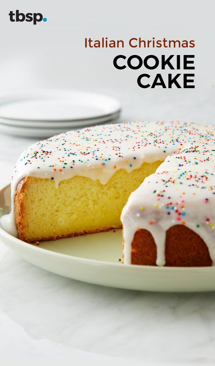 Inspired by a sugar cookie and featuring ricotta and olive oil, this Italian sweet cake is about to become the best you've ever tasted. Ever. Ever.