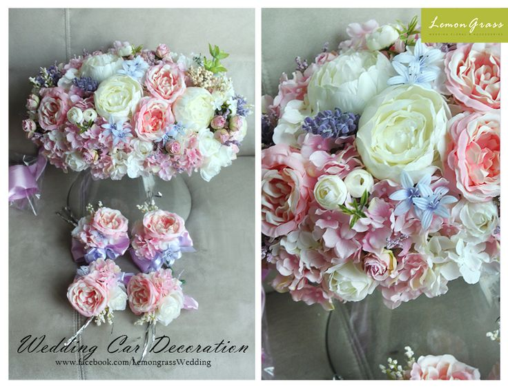 8 best silk flower car decoration images by valerie chan on wedding flower for brides bridesmaids grooms groomsmen and so much more mightylinksfo