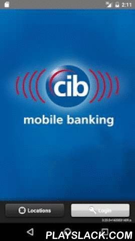 CIB Mobile Banking  Android App - playslack.com ,  Bank on your schedule with CIB Mobile Banking! View account information, transfer funds and pay bills from your Android device.This service is free*, but you must first enroll in Online Banking at www.bankcib.com. If you are already enrolled, simply use your Online Banking ID and password.You can trust that your information is secure. We utilize industry standard security technology (SSL) with 128-bit encrypted communication and security…